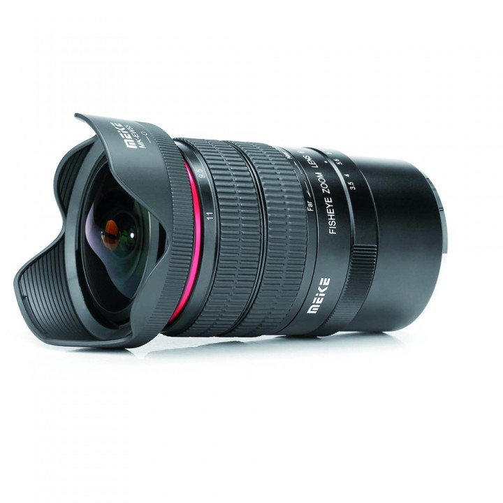 Meike F3,5/6-11 mm für Canon EF Fisheye-Zoom Objektiv