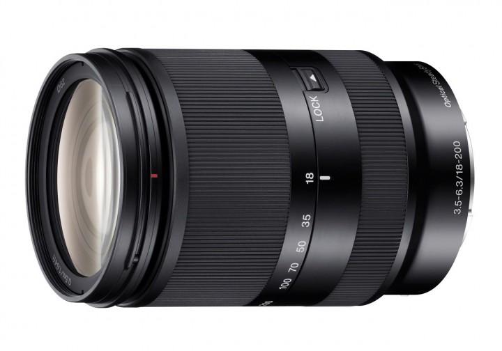 Sony E 18-200mm F3,5-6,3 LE OSS - Schwarz