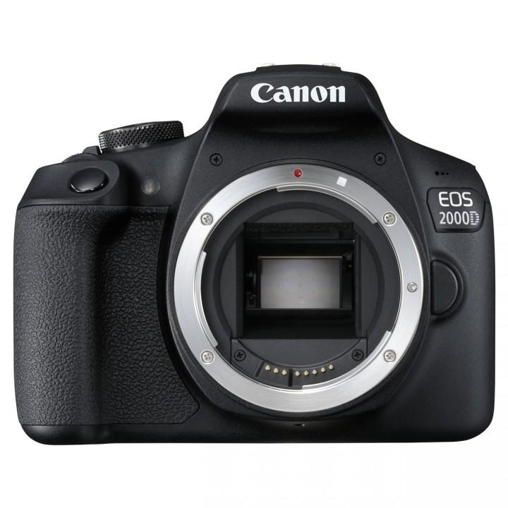 Canon EOS 2000D 18-55mm IS II Kit - Schwarz