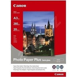 Canon SG-201 Canon Fotoglanzpapier Plus II 20 Blatt, A3 275g/m²