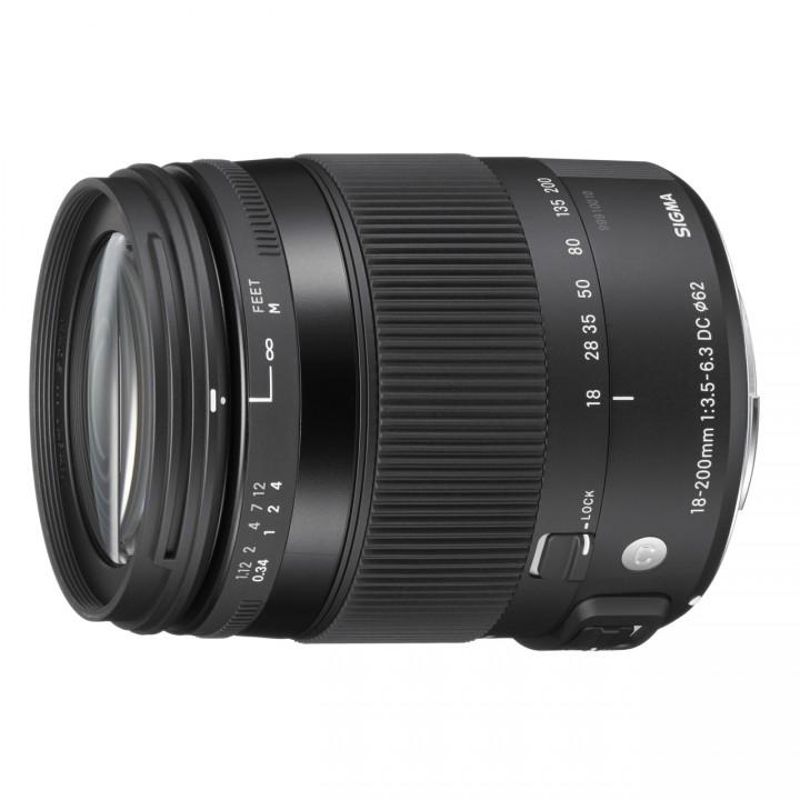 Sigma 18-200mm F3,5-6,3 DC Macro OS HSM Contemporary für Canon