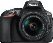 Nikon D5600 AF-P 18-55mm VR Kit - Schwarz