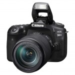 Canon EOS 90D 18-135mm IS Kit - Schwarz