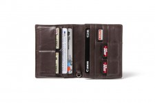 Barber Shop Fringe Passport Holder - schwarz
