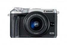 Canon EOS M6 EF-M 15-45mm IS STM Kit - Silber