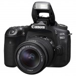Canon EOS 90D 18-55mm IS Kit - Schwarz