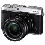 Fujifilm X-E3 18-55mm Kit - Silber