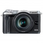 Canon EOS M6 EF-M 18-150mm IS STM Kit - Silber