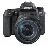 Canon EOS 77D 18-135mm IS USM Kit - Schwarz