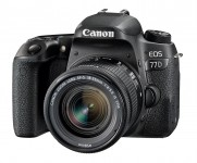 Canon EOS 77D 18-55mm IS STM Kit - Schwarz