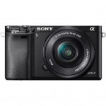 Sony alpha 6000 16-50mm Kit (ILCE-6000L) - Schwarz