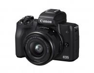 Canon EOS M50 15-45mm Kit - Schwarz
