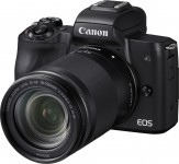Canon EOS M50 + EF-M 18-150mm F3.5-6.3 IS STM Kit - Schwarz