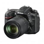 Nikon D7200 18-105 VR Kit - Schwarz