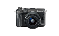Canon EOS M6 EF-M 15-45mm IS STM Kit - Schwarz