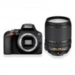 Nikon D3500 AF-S 18-140mm VR Kit - Schwarz