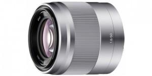 Sony E 50mm F1,8 OSS Silber