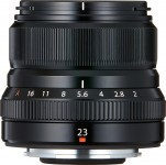 Fujifilm Fujinon XF 23mm F2 R WR - Schwarz