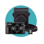 Canon PowerShot G7 X Mark II Premium Kit - Schwarz