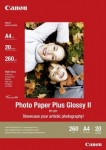 Canon PP-201 Fotoglanzpapier Plus II 20 Blatt A4 275g/m²