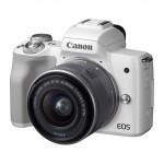 Canon EOS M50 15-45mm Special Edition Kit - Weiß - inkl. 3 Jahre Premium Garantie