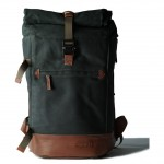 COMPAGNON 601 - The Backpack - Rucksack (Green Brown)