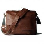COMPAGNON 109 The Medium Messenger - Camera Bag (Light Brown, Leather)