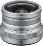 Fujifilm Fujinon XF 16mm F2.8 R WR - Silber