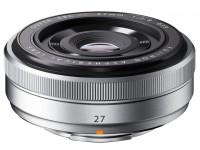 Fujifilm Fujinon XF 27mm F2,8 - Silber