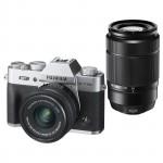 Fujifilm X-T20 15-45mm + 50-230mm II Kit - Silber