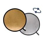 Lastolite Rundreflektor 50cm Silber/Gold