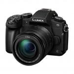 Panasonic Lumix G81W mit 12-60mm und 45-200mm II - Schwarz