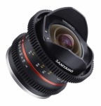 Samyang 8mm F/3.5 T Cine UMC FISH-EYE II Fuji X