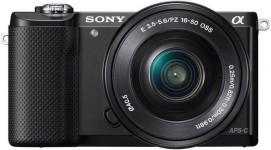 Sony alpha 5000 16-50mm Special Kit (ILCE-5000L) - Schwarz