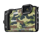 Nikon Coolpix W300 Holiday Kit - Camouflage