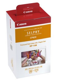 Canon Selphy CP RP-108 - Color Ink / Paper Set