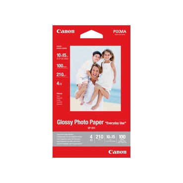 Canon GP-501 Fotoglanzpapier 10x15 100 Blatt 210g/m²