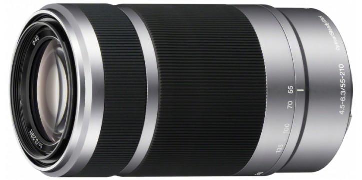 Sony E 55-210mm F4,5-6,3 OSS - Silber