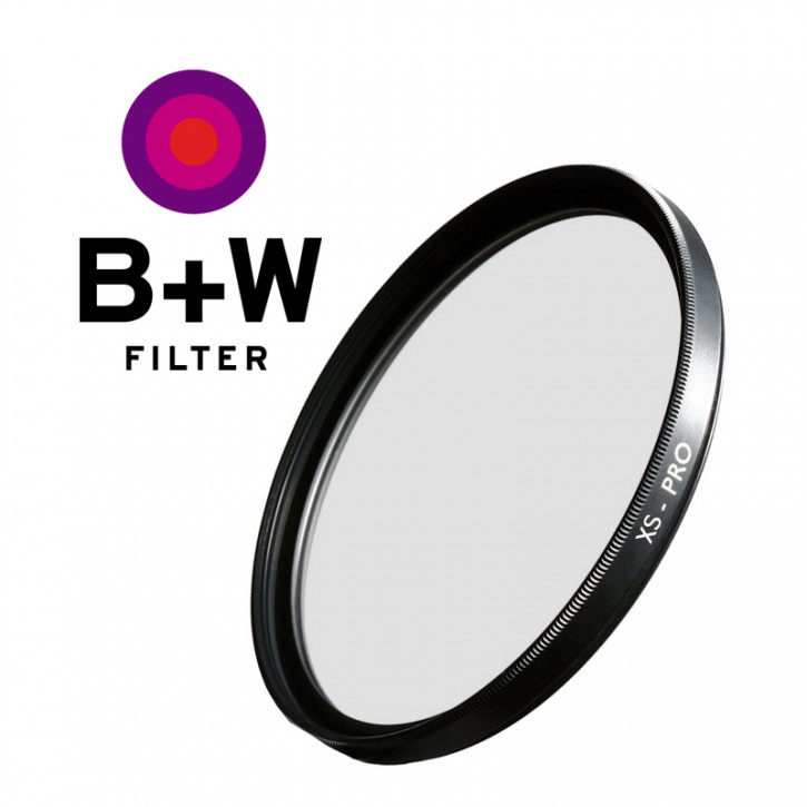 B+W Clear Filter 58mm XS-PRO Fassung Nano-MRC