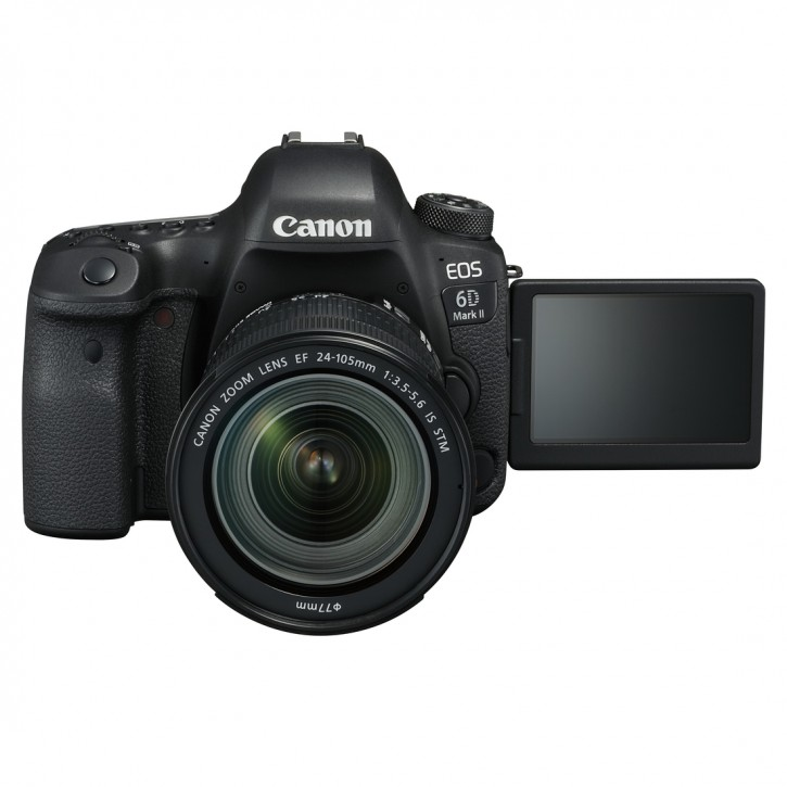 Canon EOS 6D Mark II EF 24-105mm IS STM Kit - Schwarz