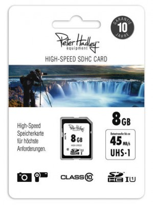 Peter Hadley SDHC 8GB 45MB/S