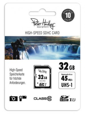 Peter Hadley SDHC 32GB 45MB/S