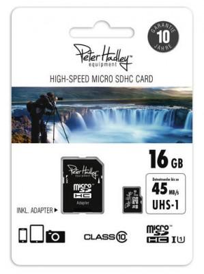 Peter Hadley Micro SDHC 16GB 45MB/S