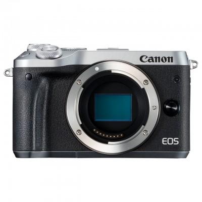 Canon EOS M6 Body - Silber