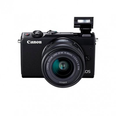 Canon EOS M100 EF-M 15-45mm IS STM Kit - schwarz