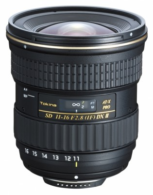 Tokina 11-16mm F/2.8 AT-X Pro DX II Canon EF-S