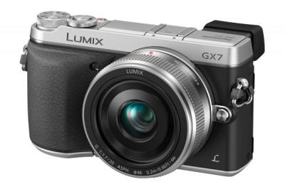 Panasonic Lumix GX7C mit 20mm - Silber