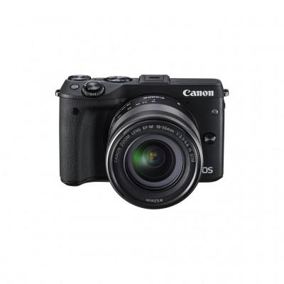Canon EOS M3 EF-M 18-55 IS STM Kit - Schwarz - B-Ware