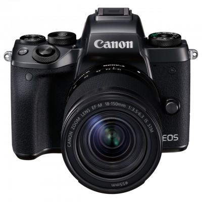 Canon EOS M5 EF-M 18-150mm Kit - Schwarz