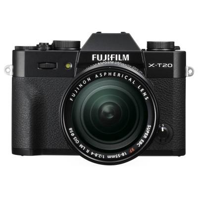 Fujifilm X-T20 18-55mm Kit - Schwarz